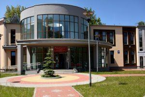 Budynek Zamiejscowego Wydziału Leśnictwa w Hajnówce